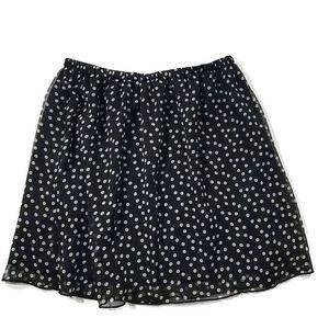 Apostrophe Polka Dot Skirt